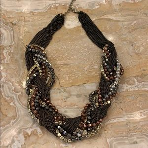 Brown Cache necklace